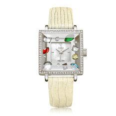 ซื้อ Julius นาฬิกาข้อมือควอตซ์หญิง ประดับคริสตัล หน้าปัดทรงเหลี่ยม รุ่น Ja 607 ออนไลน์ ถูก