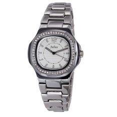 ราคา Julius รุ่น Ja 711 นาฬิกาผู้หญิง สแตนเลส สีเงินหน้าขาว