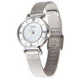 ราคา Julius นาฬิกาข้อมือผู้หญิง สายสแตนเลส รุ่น Ja728 Silver เป็นต้นฉบับ Julius