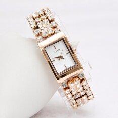 ขาย Julius นาฬิกาแบรนด์เกาหลี สายสแตนเลส รุ่น Ja776 สายสีชมพูทอง Pink Gold หน้าปัดสีขาว White By Budgerigar Shops กรุงเทพมหานคร ถูก
