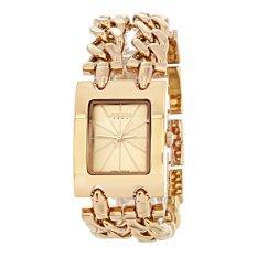 Julius นาฬิกาจูเลียส นาฬิกาแฟชั่นแบรนด์ดังสไตล์เกาหลี รุ่น Ja876สีน้ำตาลทอง(gold).