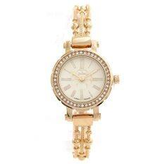 ขาย Julius นาฬิกาข้อมือผู้หญิง สาย ตัวเรือน โลหะผสม รุ่น J809 Gold ถูก