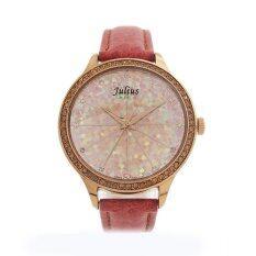โปรโมชั่น Julius นาฬิกาข้อมือผู้หญิง สายหนัง รุ่น J791 Brown Julius ใหม่ล่าสุด