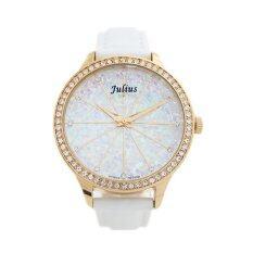 ราคา Julius นาฬิกาข้อมือผู้หญิง สายหนัง รุ่น Ja 791 White Julius ออนไลน์