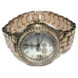 ราคา Julius นาฬิกาข้อมือผู้หญิง สีพิ้งโกลด์ ชมพูทอง สายสแตนเลส รุ่น Ja 811C
