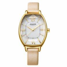 ราคา Julius นาฬิกาข้อมือผู้หญิงสายหนัง รุ่น Ja920 สีเบจ ทอง Beige ถูก