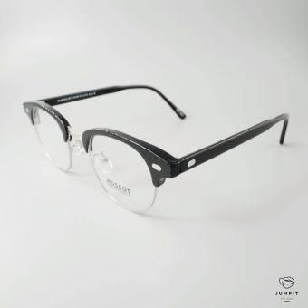 JUMPIT(จุมพิต) แว่นตาวินเทจ กรอบแว่นสายตา รุ่น ยูเคล มี 2 สี ดำ กระ