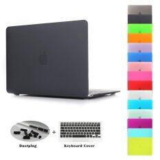ซื้อ Jusheng® Pro 13 Retina A1706 A1708 3In1 Macbook Matting Plastic Hard Case With Keyboard Cover Dust Plug For Newest Macbook Pro 13 Inch With Retina Display No Cd Rom A1706 A1708 Oct 2016 Intl Jusheng เป็นต้นฉบับ