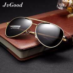 ซื้อ Jvgood Aviator Polarized Sunglasses แว่นตากันแดดแบบคลาสสิก แว่นตากันแดดผู้หญิง ผู้ชาย ะท้อนแสงแว่นตา ใหม่ล่าสุด