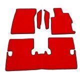 ขาย K Rubber พรมปูพื้นเข้ารูป รุ่น Honda Civic 2013 ลายกระดุม ชุด 5 ชิ้น สีแดง ถูก ใน ไทย