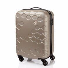 ราคา ราคาถูกที่สุด Kamiliant กระเป๋าเดินทาง รุ่น Harrana Spinner 67 24 Tsa ขนาด 24 นิ้ว สี Ivory Gold