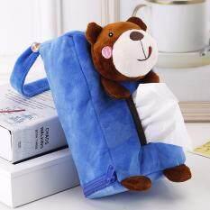 ส่วนลด K B Shop ที่ใส่กระดาษทิชชูแขวนหลังเบาะรถยนต์ ลายหมีสีฟ้า รุ่น Aim 313 K B Shop