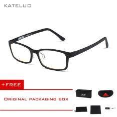 ขาย Kateluo Tungsten Carbon คอมพิวเตอร์แว่นตา Anti Blue Laser ความเมื่อยล้าแว่นสายตาอ่านหนังสือกรอบแว่นสายตา 1310 Kateluo เป็นต้นฉบับ