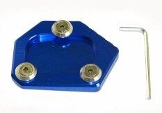 ขาย Kickstand ขาตั้งแผ่นรองเสริมแผ่นรองสำหรับ Honda Cbr500R Cb500F Cb500X Nc700S Nc700X Nc700D Integra Nm 4 Cb650F Cbr650F Cb250F Cbr300R Cb400 Cbr250R Cbr600F สีฟ้า จีน ถูก