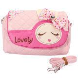 ขาย Kids Children Girls Princess Rabbit Bowknot Handbag Shoulder Bags Messenger Bag Intl ออนไลน์