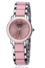 ราคา Kimio นาฬิกาข้อมือผู้หญิง สาย Alloy รุ่น K455L สีชมพู Kimio ออนไลน์