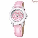 Kimio Classic Luxury Simple Atmosphere Leather Strap Quartz Watch Citizen Miyota 2035 Waterproof Kw522S Pink Kimio ถูก ใน ไทย