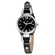 Kimio Fashion Casual Waterproof Genuine Leather Kw545S Black ใน ไทย
