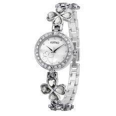 ราคา Kimio นาฬิกาข้อมือผู้หญิง สายสแตนเลสประดับ Jewelry รุ่น K456L สีขาว Kimio ออนไลน์
