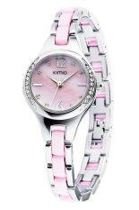 ขาย Kimio นาฬิกาข้อมือผู้หญิง รุ่น K449 Pink Silver ใหม่