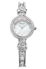 Kimio นาฬิกาข้อมือผู้หญิง สายสแตนเลส รุ่น Kw556 Silver ถูก