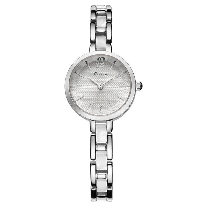 KIMIO New Women Watch Fashion Bracelet Lady Watch KW6002S (White)