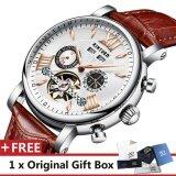 ขาย ซื้อ Kinyued นาฬิกาสุดหรูยี่ห้อผู้ชายนาฬิกาสุดหรูนาฬิกาหนังแท้ 3Atm นาฬิกากันน้ำนาฬิกาบุรุษผู้ทรงคุณวุฒินาฬิกานาฬิกาสำหรับผู้ชายนาฬิกาข้อมือ J017P นานาชาติ ใน จีน