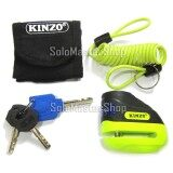 ราคา Kinzo Lock Disk ล็อคดิสเบรค ล็อคดิส รถจักรยานยนต์ No 505 สีเหลือง ของแท้ 100 เป็นต้นฉบับ