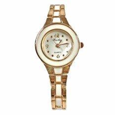 ขาย Kiushar นาฬิกาข้อมือผู้หญิง สไตล์เกาหลี สีขาว รุ่น Wm0078 Unbranded Generic