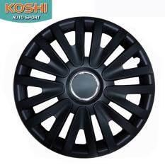 ซื้อ Koshi Wheel Cover ฝาครอบกระทะล้อ 14 นิ้ว ลาย 5063Bp สีดำ 4ฝา ชุด Koshi ถูก