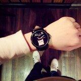ขาย Kpshop นาฬิกาผู้หญิงสายหนัง นาฬิกาข้อมือแฟชั่น นาฬิกาสำหรับผู้หญิง รุ่น Lc 010 สีดำ Kpshop ออนไลน์