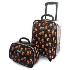 ราคา กระเป๋าเดินทาง Sun Polo รุ่น 0003 ขนาด 18 นิ้ว 2 ล้อลาก สีดำ ลายกราฟฟิกนกฮูก ออนไลน์ กรุงเทพมหานคร