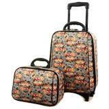 ทบทวน กระเป๋าเดินทาง Sun Polo รุ่น 0003 ขนาด 18 นิ้ว 2 ล้อลาก สีเทาลายลูกสุนัข