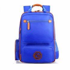 ราคา กระเป๋าเป้นักเรียน Sch**l Bag Ct สีฟ้า เป็นต้นฉบับ