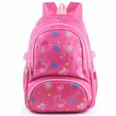 ขาย กระเป๋าเป้นักเรียน Sch**l Bag Heartbeat สีชมพู ใน สมุทรปราการ