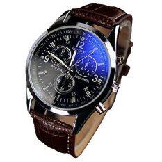 ขาย ซื้อ Ky นาฬิกาข้อมือแฟชั่นสไตร์เกาหลี รุ่น Yazole 271 สีน้ำตาล ใน Thailand