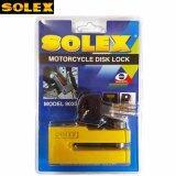 ราคา ล็อคดิส Solex กุญแจล็อคดิสเบรค รถจักรยานยนต์ รุ่น 9030 สีเหลือง Solex