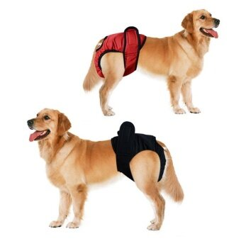 ถูกที่สุดในวันนี้ L Pet Large Dog Diaper Sanitary Physiological Pants Washable Female Dog Shorts Panties Menstruation Underwear - intl buy - มีเพียง ฿118.06