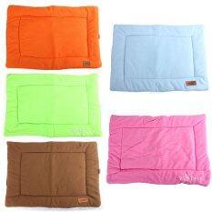 ราคา L Small Medium Extra Large Pet Dog Crate Mat Kennel Cage Pad Bed Cushion Pink Intl ถูก