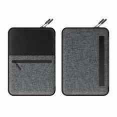 ขาย ซื้อ ออนไลน์ Lab C ซองแล็ปท็อป Pocket Sleeve For Macbook Air Macbook Pro 13 Laptop Sleeve Gray Black