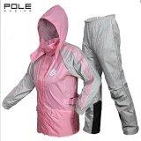 ขาย Pole Racing ชุดเสื้อกันฝน เสื้อกันฝน กางเกงกันฝน แบบแยกชิ้น Unbranded Generic ถูก