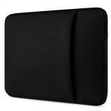 ราคา กระเป๋าถือกระเป๋าหิ้วแขนเสื้อป้องกันที่มีกระเป๋าข้างสำหรับยูนิเวอร์แซล 39 62ซมแล็ปท็อปสีดำ Thinch เป็นต้นฉบับ