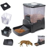 โปรโมชั่น Large Automatic Program Digital Pet Feeder Cat Dog 10L Intl ถูก