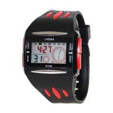 ขาย นาฬิกาข้อมือ Lasika รุ่น W F62 ดิจิตอล กันน้ำ 50เมตร ตั้งปลุกได้ จับเวลา มีแสงไฟในตัว ถูก