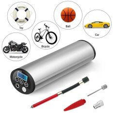 Lcd 50Psi 12V Portable Mini Air Compressor Auto Car Electric Tire Inflator Pump Intl จีน