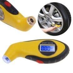 ขาย Lcd Digital Car Motorcycle Tire Tyre Air Pressure Gauge Tester Tool For Auto Intl เป็นต้นฉบับ