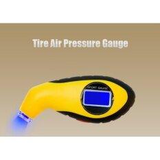 โปรโมชั่น Lcd Digital Manometer Barometers Tire Tyre Air Pressure Gauge Tester For Car Auto Motorcycle Intl N A ใหม่ล่าสุด