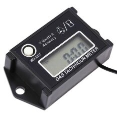 ทบทวน Lcd Digital Tachometer Tach Hour Meter Rpm Tester For 2 4Strokeengine Motorcycles Intl