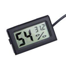 ราคา เครื่องวัดอุณหภูมิความชื้นอุณหภูมิดิจิตอลแอลซีดีเกจวัดอุณหภูมิไฮโกรมิเตอร์ เป็นต้นฉบับ
