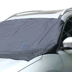 ซื้อ Leadsea 210 120 Cm Car Windshield Sun Shade Micro Fiber Winter Car Snowshield Cover Auto Front Windscreen Rain Frost Sunshade Car Cover ถูก